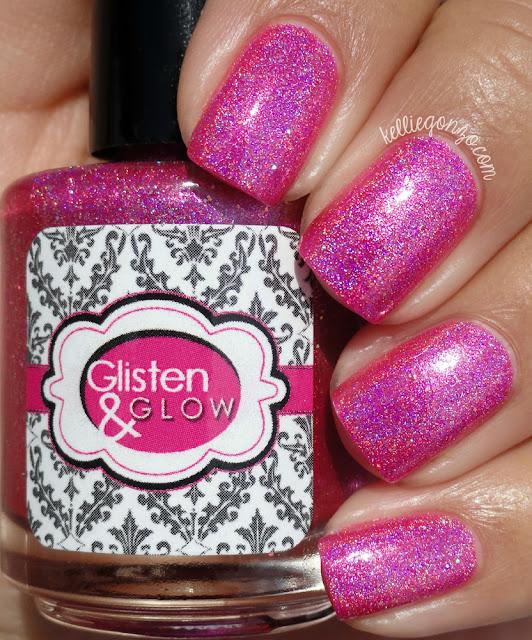 Glisten & Glow Pink Rock Candy
