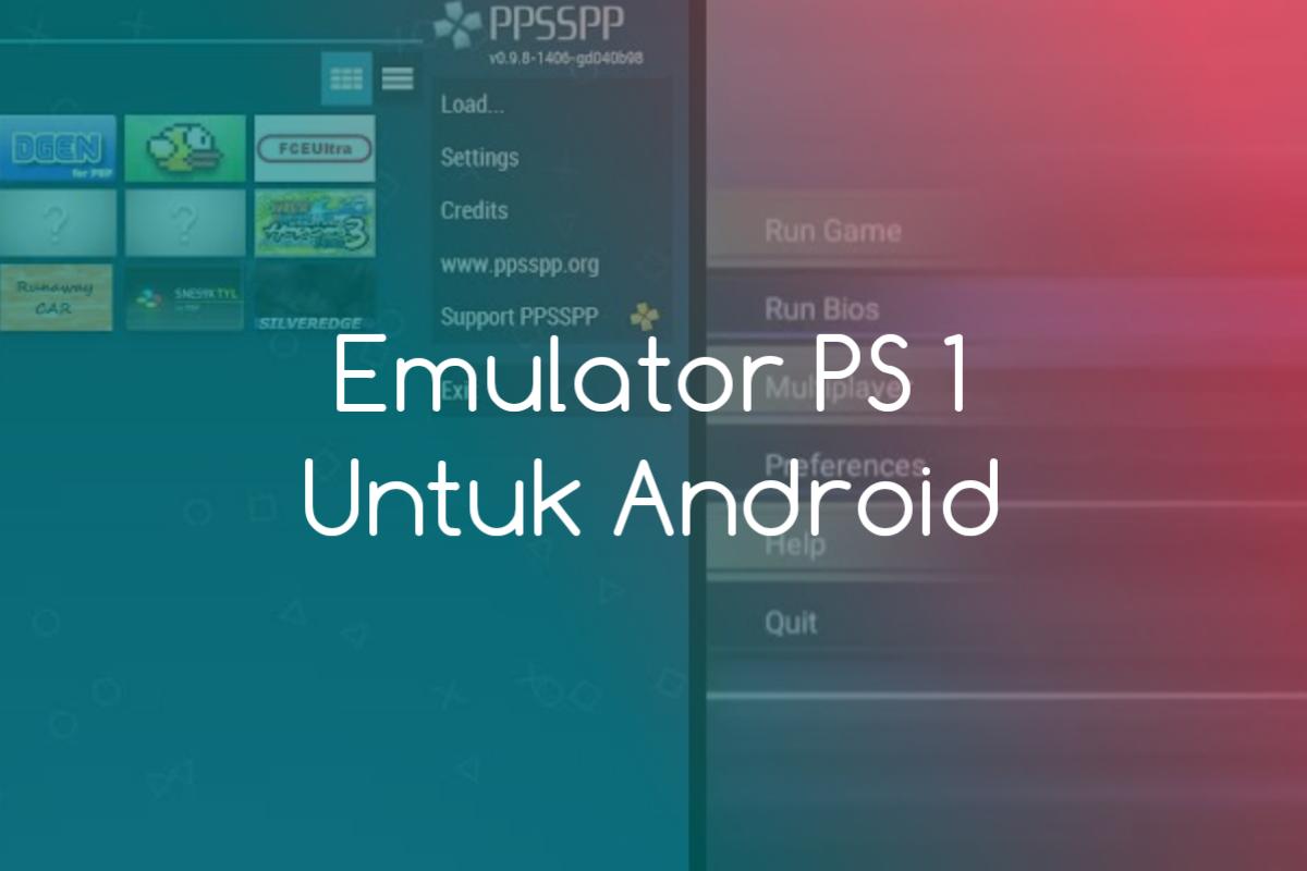 emulator ps 1 untuk android
