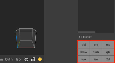 Export Options for MagicaVoxel