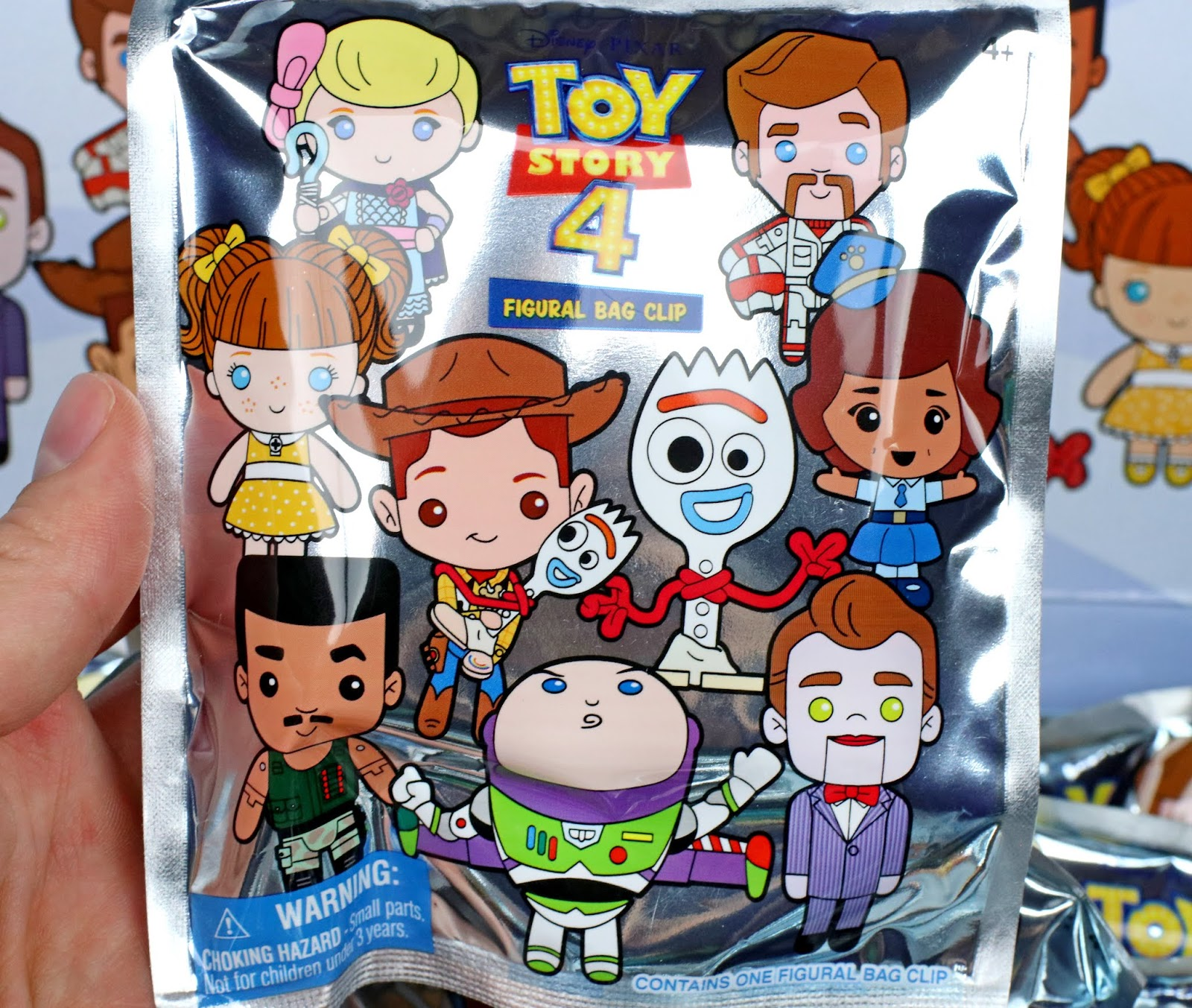 toy story 4 figural bag clips monogram