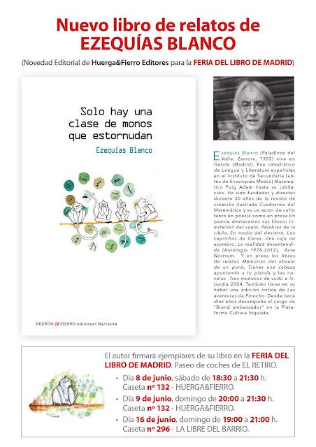 Relatos de Ezequías Blanco, Bare nostrum, Prólogo de Juan Carlos Galán