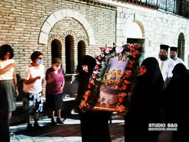 Αργολίδα: Η εορτή της Απόδοσης της Κοιμήσεως της Θεοτόκου στην Ιερά Μονή Καλαμίου