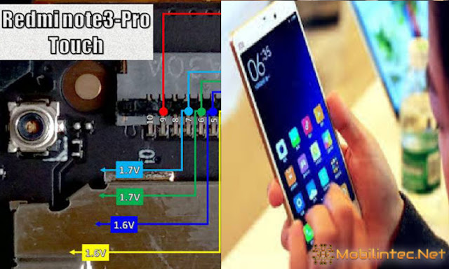 Touchscreen Repair Xiaomi Redmi Note 3 Pro Not Work