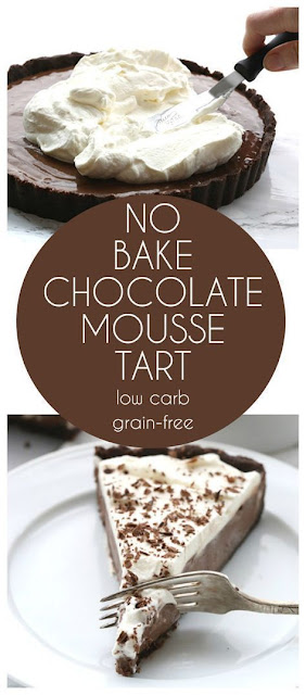 No Bake Chocolate Mousse Tart
