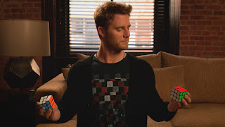 Limitless Season 1 Episode 2 S01E02 Badge Gun rubik's cube two handed