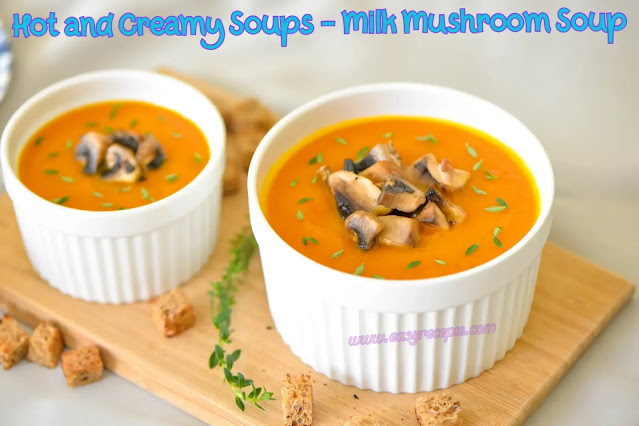 Hot and Creamy Soups - Carrot-Curry Cream Soup