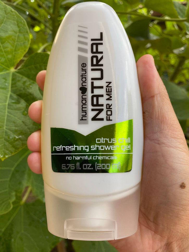 Human Nature shower gel for men