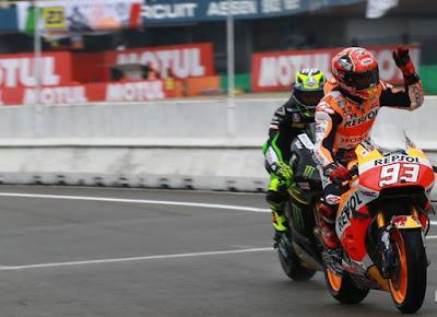Klsemen Sementara MotoGP Usai Seri Assen, Belanda 2016