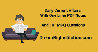 Daily Current Affairs, One Liner & Quizzes With Top Headlines (16-8-18)