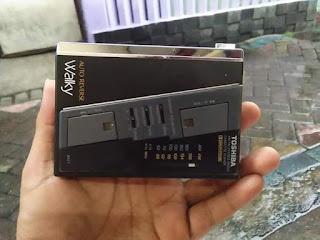 Dijual Walkman Toshiba Koleksi Jadul