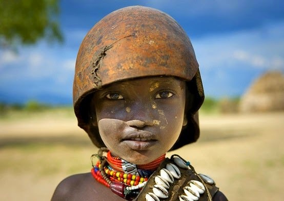 A child of the Erbore tribe, Ethiopia. - The 63 Most Powerful Photos Ever Taken That Perfectly Capture The Human Experience