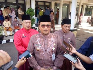 Wawako Maulana jadi Irup Hut Ke 63 Provinsi Jambi