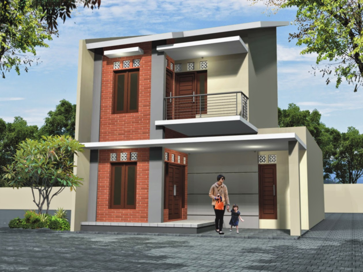 60 Desain Rumah Minimalis 2 Lantai Tipe 36