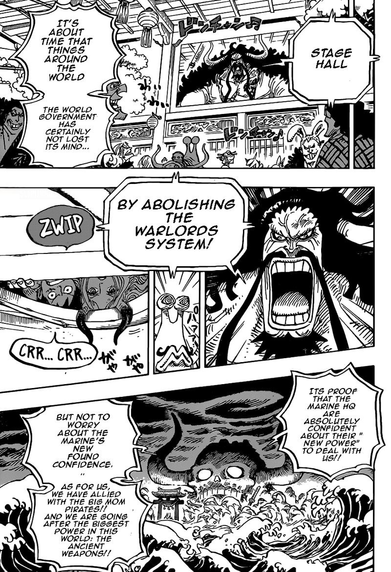 One Piece Manga Chapter 985 - Image 010