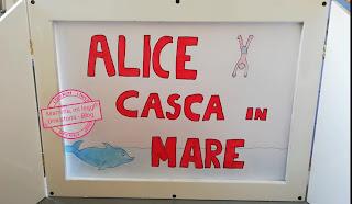 Alice scasca in mare di Gianni Rodari, illustrato da Stefania Pessina