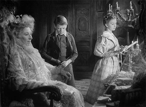 Scène du film, Les Grandes Espérances, réalisé par David Lean en 1946.