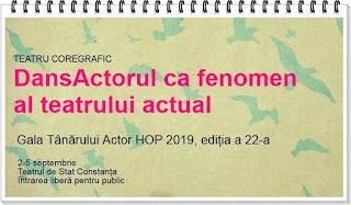 program gala tanarului actor hop 2019 constanta