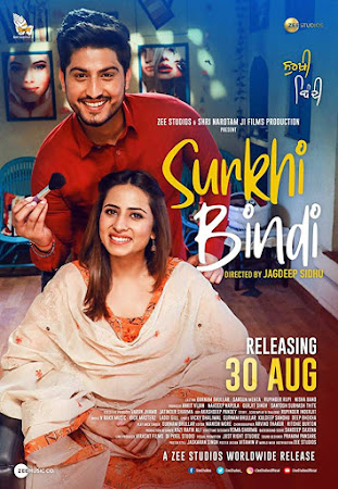 Poster Of Punjabi Movie Surkhi Bindi 2019 Full HD Movie Free Download 720P Watch Online