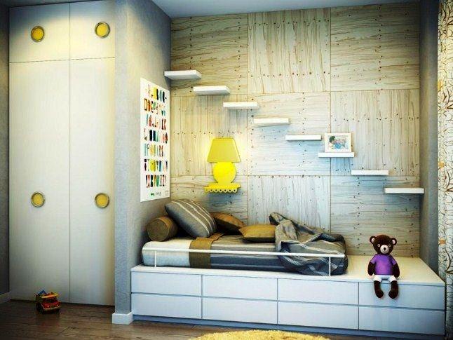 31 Desain Interior Kamar Tidur Sempit Ukuran 2x3 Minimalis Sederhana