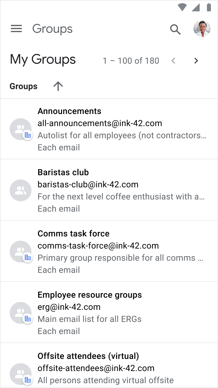 Google Workspace Updates Improved Mobile Interface For New Groups