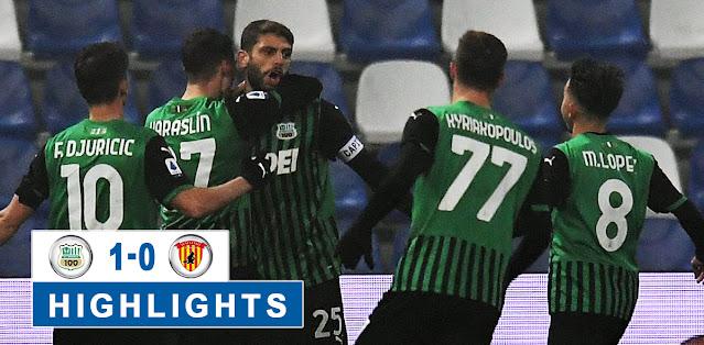 Sassuolo vs Benevento – Highlights