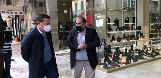 Τα τέσσερα μέτρα στήριξης για επιχειρήσεις και εργαζόμενους που καλεί την κυβέρνηση να πάρει ο Αλέξης Τσίπρας