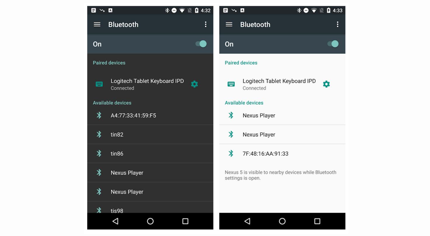 First Android N Screenshot Leak Shows Hamburger Menu In Settings App