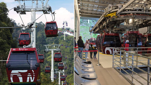 Tiket Percuma Cable Car Awana Skyway Khusus Untuk Rakyat Pahang Bermula 27 Mac Ini