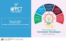 Registro del Plan Nacional de Innovación Tecnológica fue extendido hasta el 6 de octubre Ciencia