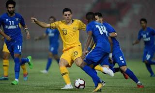الكويت يلعب ضد أستراليا في تصفيات كأس العالم 2022 اليوم