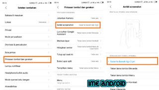 Hp Xiaomi Tidak Bisa Screenshot 3 jari