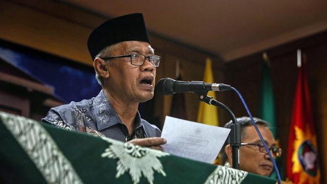 Serahkan Kasus Ahok Pada Mekanisme Hukum Ujar Ketum Muhammadiyah