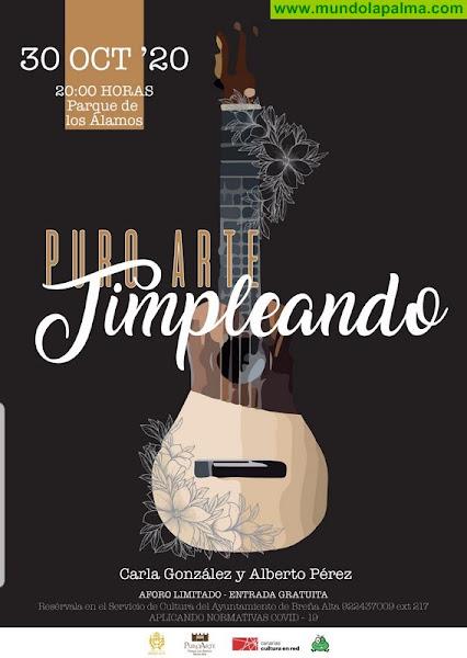El Ayuntamiento de Breña Alta ofrece este viernes el espectáculo 'Timpleando'