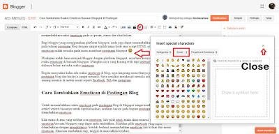 Cara Tambahkan Reaksi Emoticon Bawaan Blogspot di Postingan