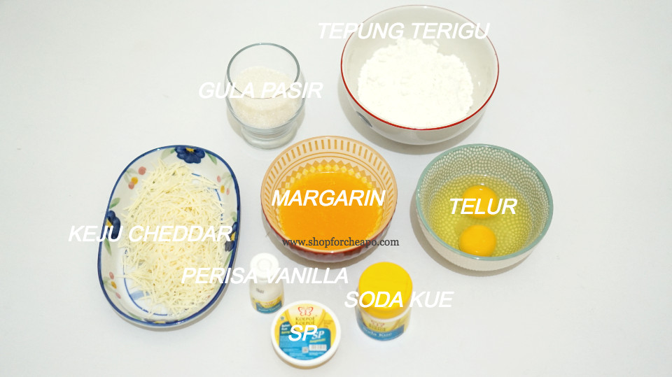 bahan bahan membuat bolu keju rice cooker