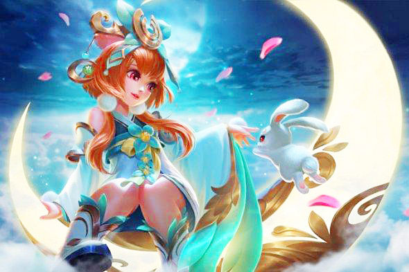 wallpaper chang'e mobile legends, tips build item terbaik, tersakit ala lemon rrq