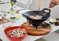 risoto de cogumelos variados