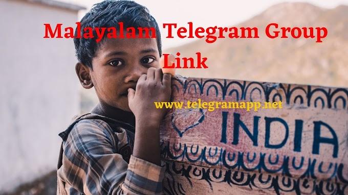 Join 101+ Malayalam Telegram Group Link