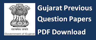 Gujarat Pevious PapersGPSC Medical and Health Service Class-2 Provisional Answer Key and Question Paper