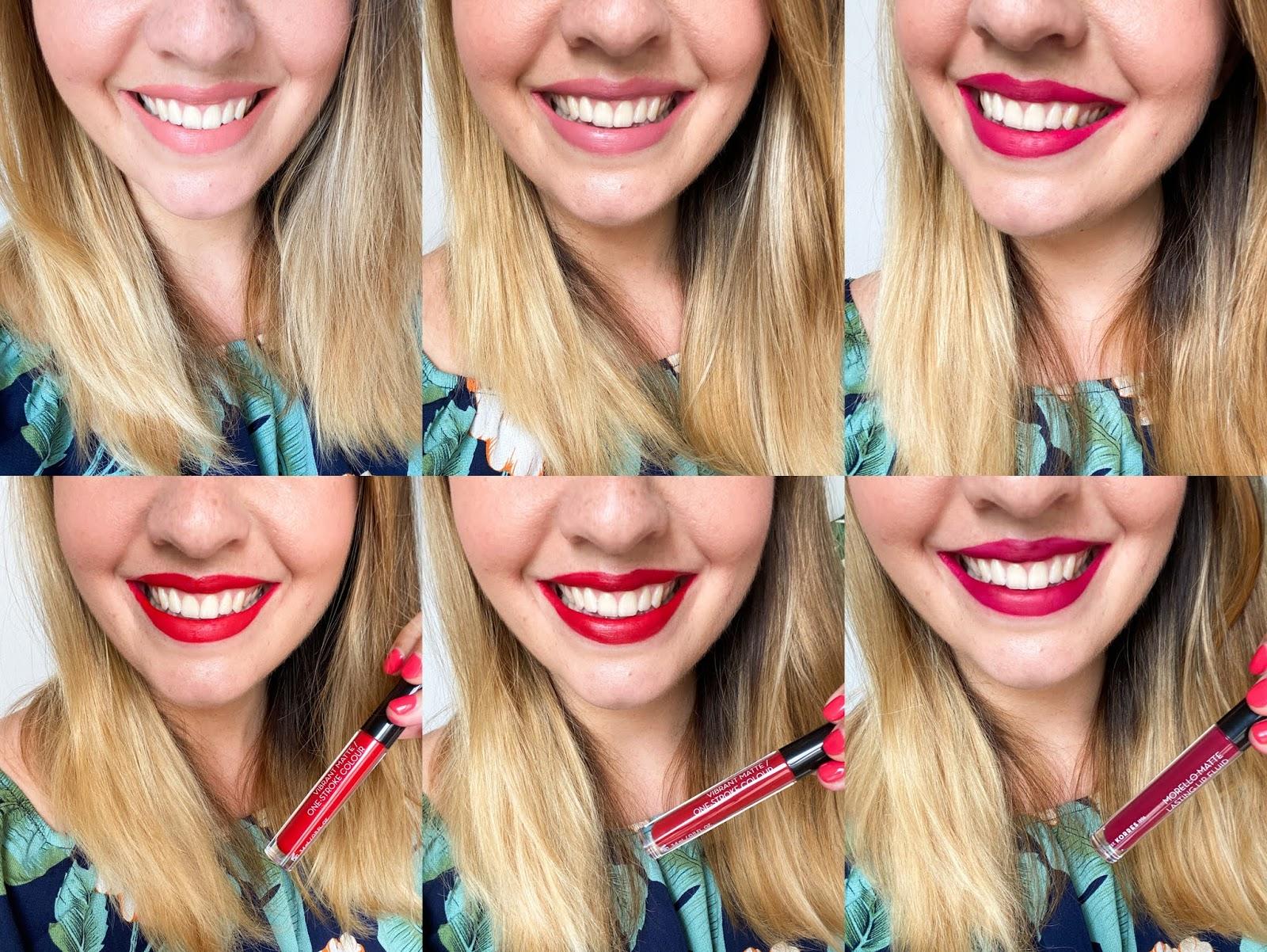 Korres rouge à lèvres liquides morello mat