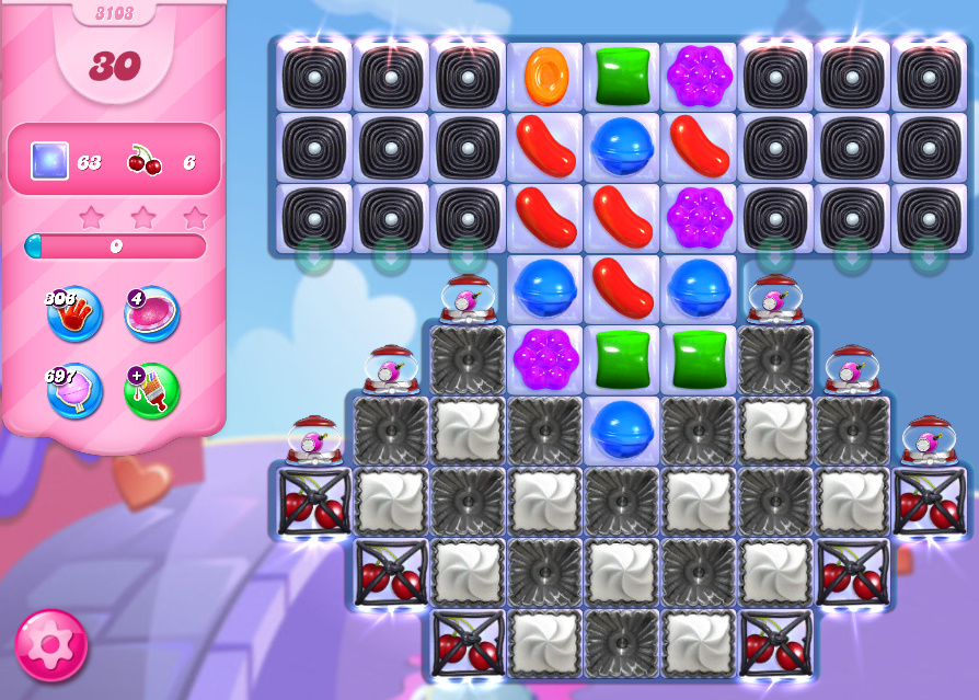 Candy Crush Saga level 3103