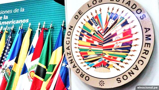 OEA sobre crisis política del Perú