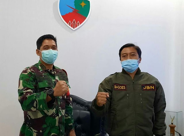 Jurnalis Bela Negara Kunjungi Lanud Husein Sastranegara
