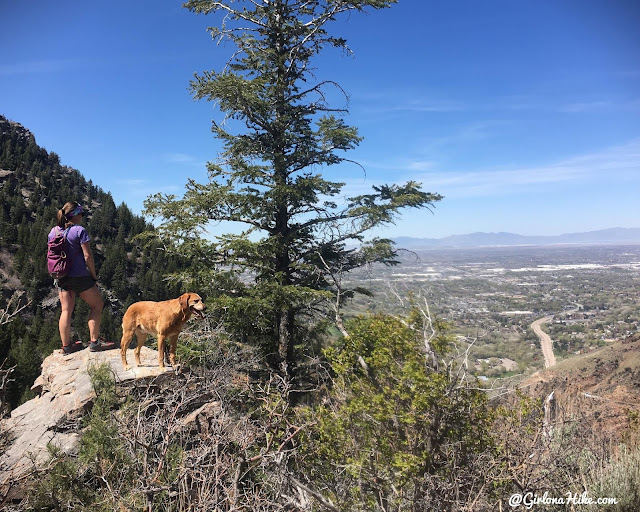 Hiking the Indian Trail in Ogden