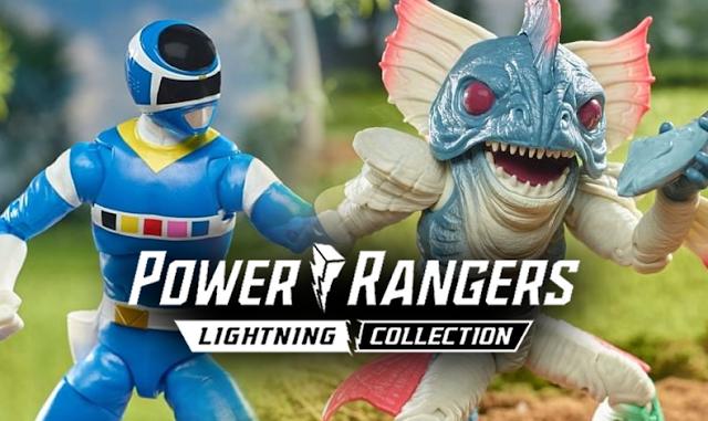 Hasbro lança linha de luxo da Lightning Collection de Power Rangers