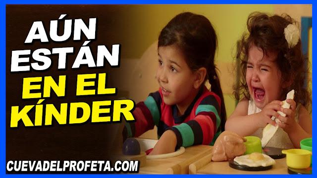Aún están en el kínder - William Marrion Branham en Español