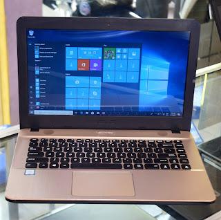 Jual Laptop Design ASUS X441 Core i3 Double VGA