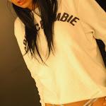 Andrea Rincon, Selena Spice Galeria 19: Buso Blanco y Jean Negro, Estilo Rapero Foto 67