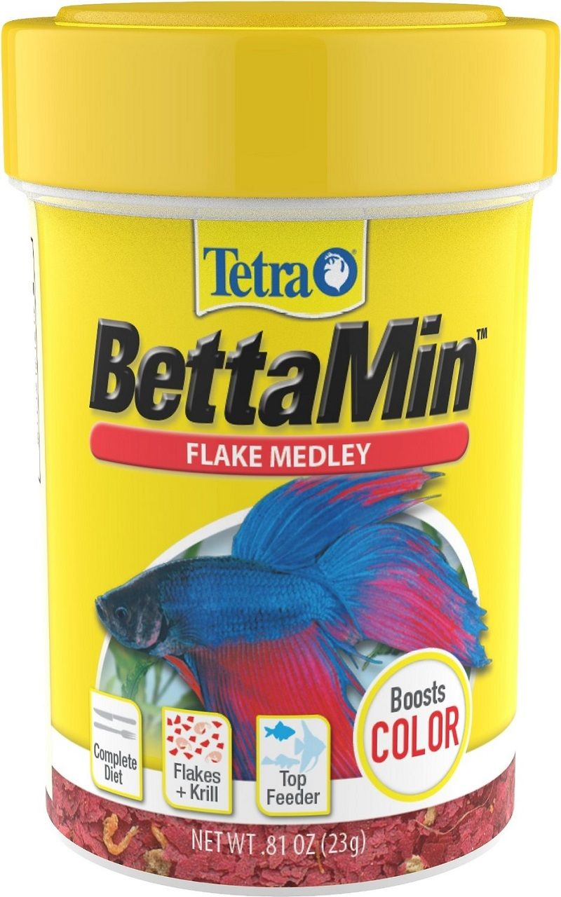 Betta Fish Food Tropical Flakes Image By