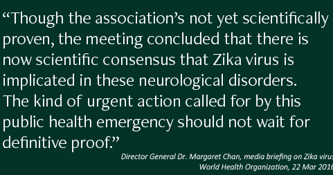 On Zika and microcephaly: causality, consensus and checklists....